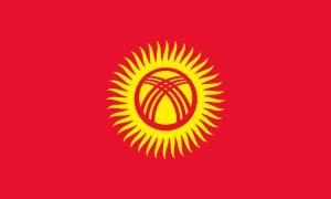 Flaga Kirgistanu