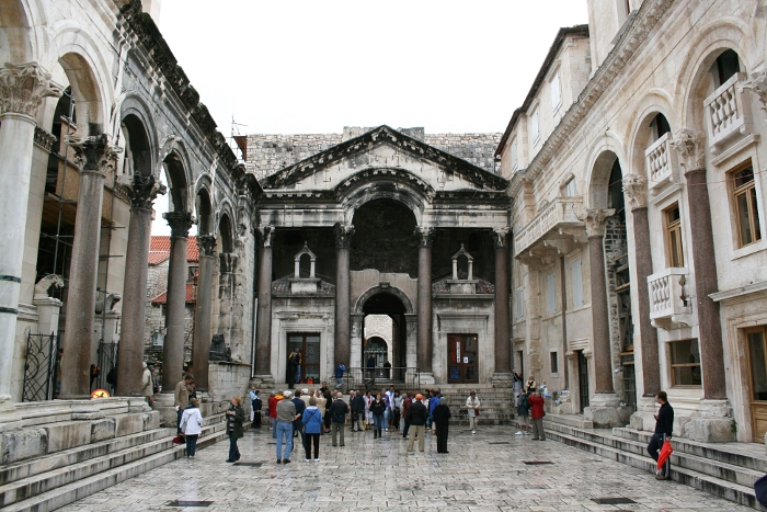 Pałac Dioklecjana (palača Dioklecijanova) – skarb Splitu