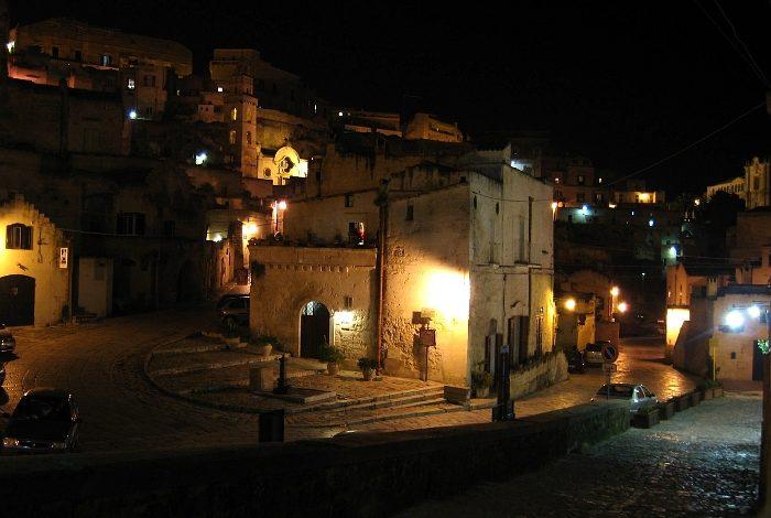 Matera – miasto wykute w skale