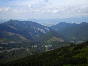 Demianowska Dolina z podejścia na Chopok