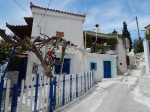 Uliczka w Poros