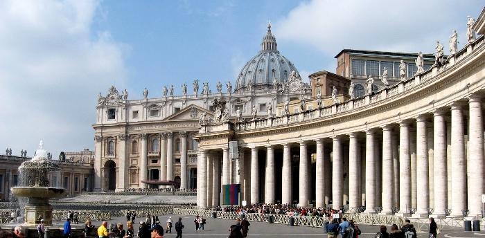 Watykan (Città del Vaticano) – najmniejsze państwo świata