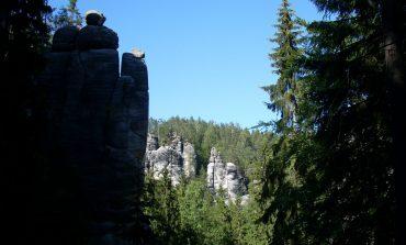 Wśród skał Adrspachu