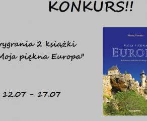 "Konkurs ""Moja piękna Europa"""
