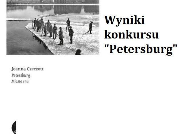 """Wyniku konkursu """"Petersburg"""""""