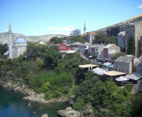 Mostar- miasto przy moście