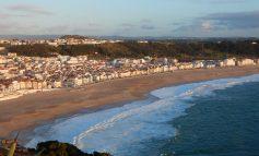 Podziwiając Atlantyk - na portugalskim wybrzeżu
